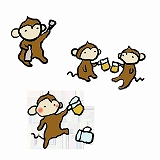 s-hand_monkey_drinking